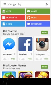 Google Play for the BlackBerry