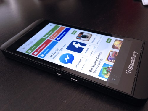 Install Google Play to the BlackBerry