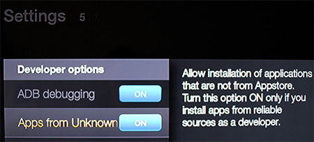 Make Sure Apps from Unknown Sources is Turned On