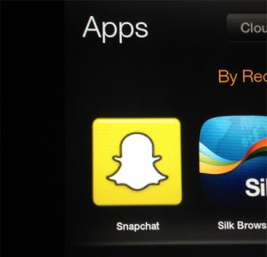 Snapchat for the Kindle Fire, HD, & HDX