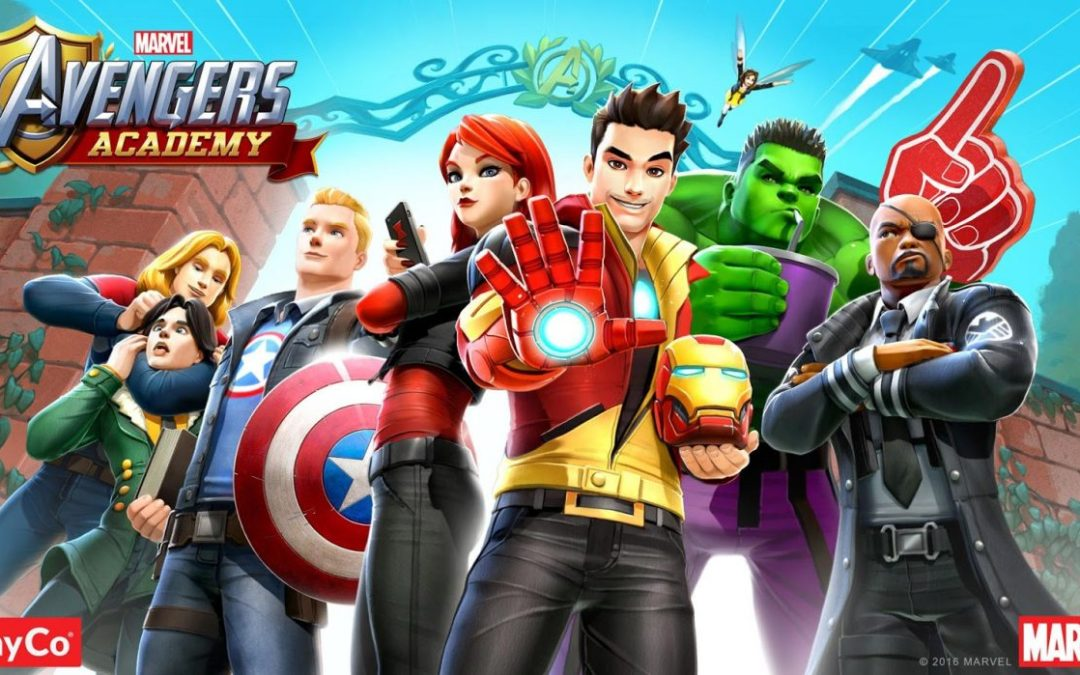 Avengers Academy: Everyone's Playing It