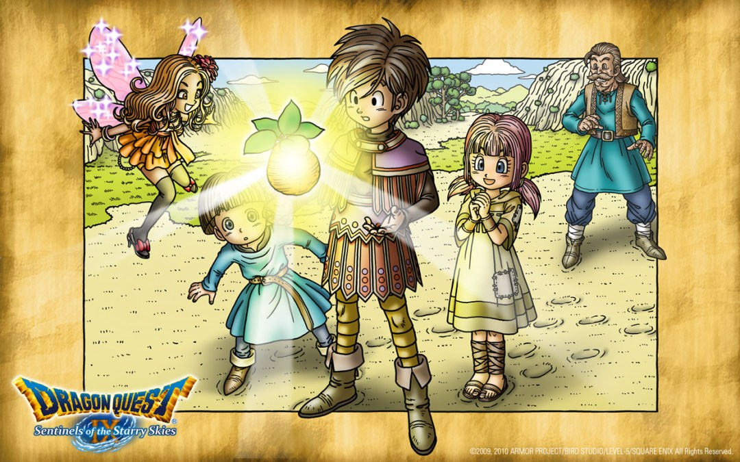 Names and Narratives: Storytelling in the Dragon Quest Series