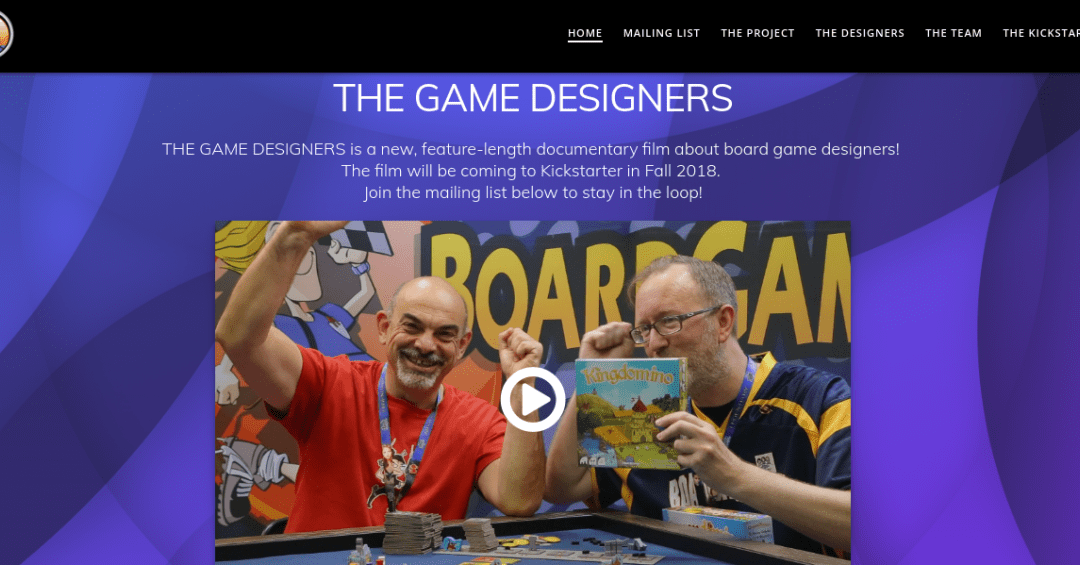 Where Are the Women?: Oversight and The Game Designers Trailer