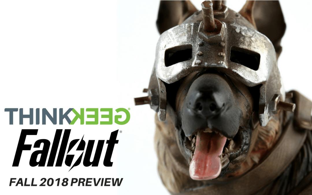 THINKGEEK Fallout 2018 Fall Preview