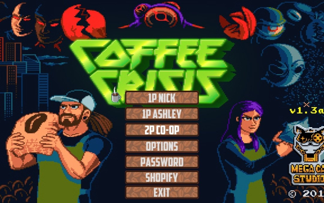 Coffee Crisis: Caffeinated Clerks Combat Conquering Cryptids