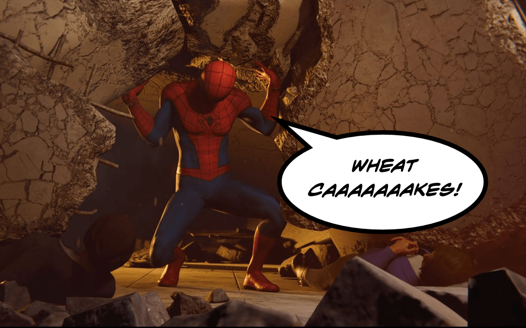 Eat Your Games: Aunt May's Famous Wheatcakes