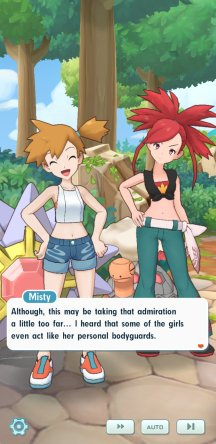 """Misty stating that some of Erika's admirers take it """"a little too far"""" and even become her bodyguards."""