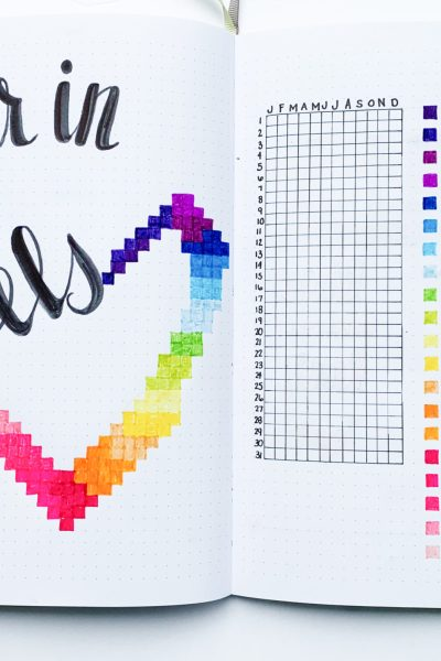 Are you ready for 2019? Find out just how to plan out your 2019 bullet journal set up for your BEST year yet! Find different bullet journal pages for each of your resolutions that will help you visualize your goals and stay focused in 2019!