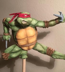 Raphael Ninja Turtles Cake