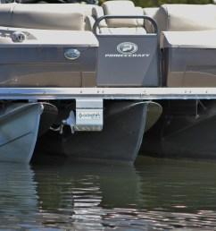 24 pontoon boat thruster retracted [ 5184 x 3456 Pixel ]