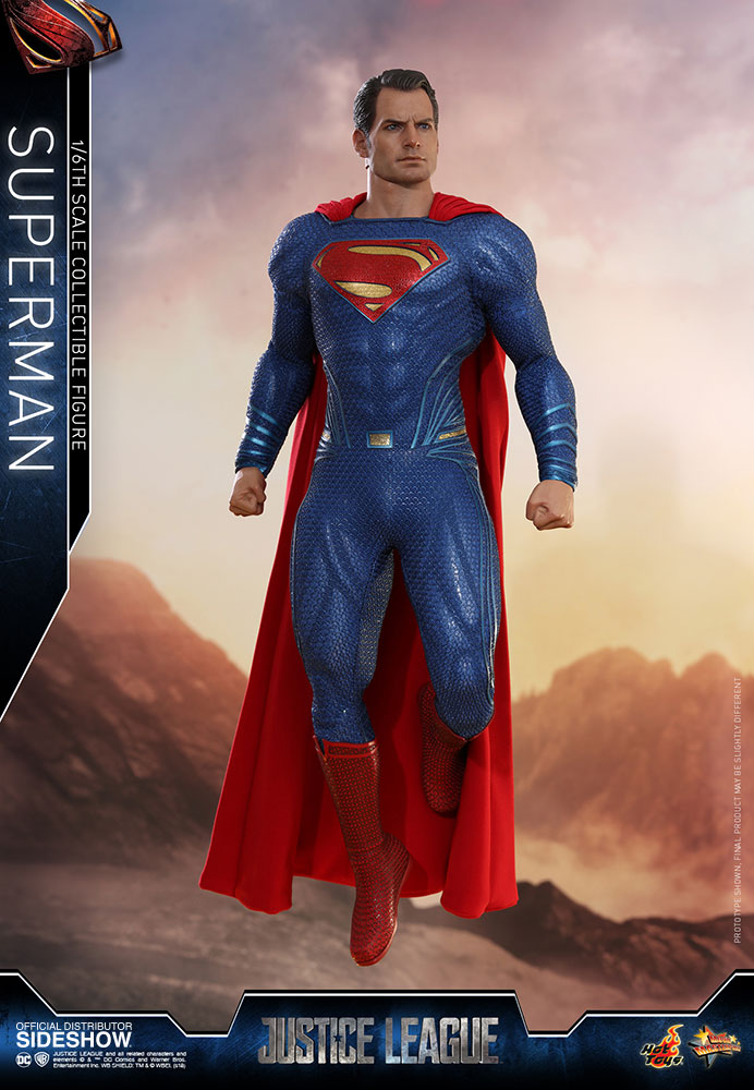 Hot Toys Justice League Superman : justice, league, superman, Justice, League, Superman, Figure, Sideshow, Collectibles