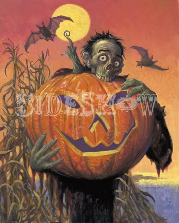 Halloween Zombie - Sideshow Fine Arts