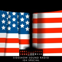 Independence Day Artwork for our Film Soundtrack Podcast