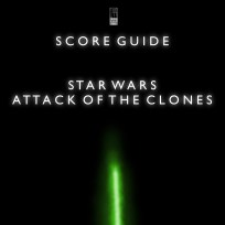 Star Wars Attack of the Clones Artwork for our Film Soundtrack Podcast