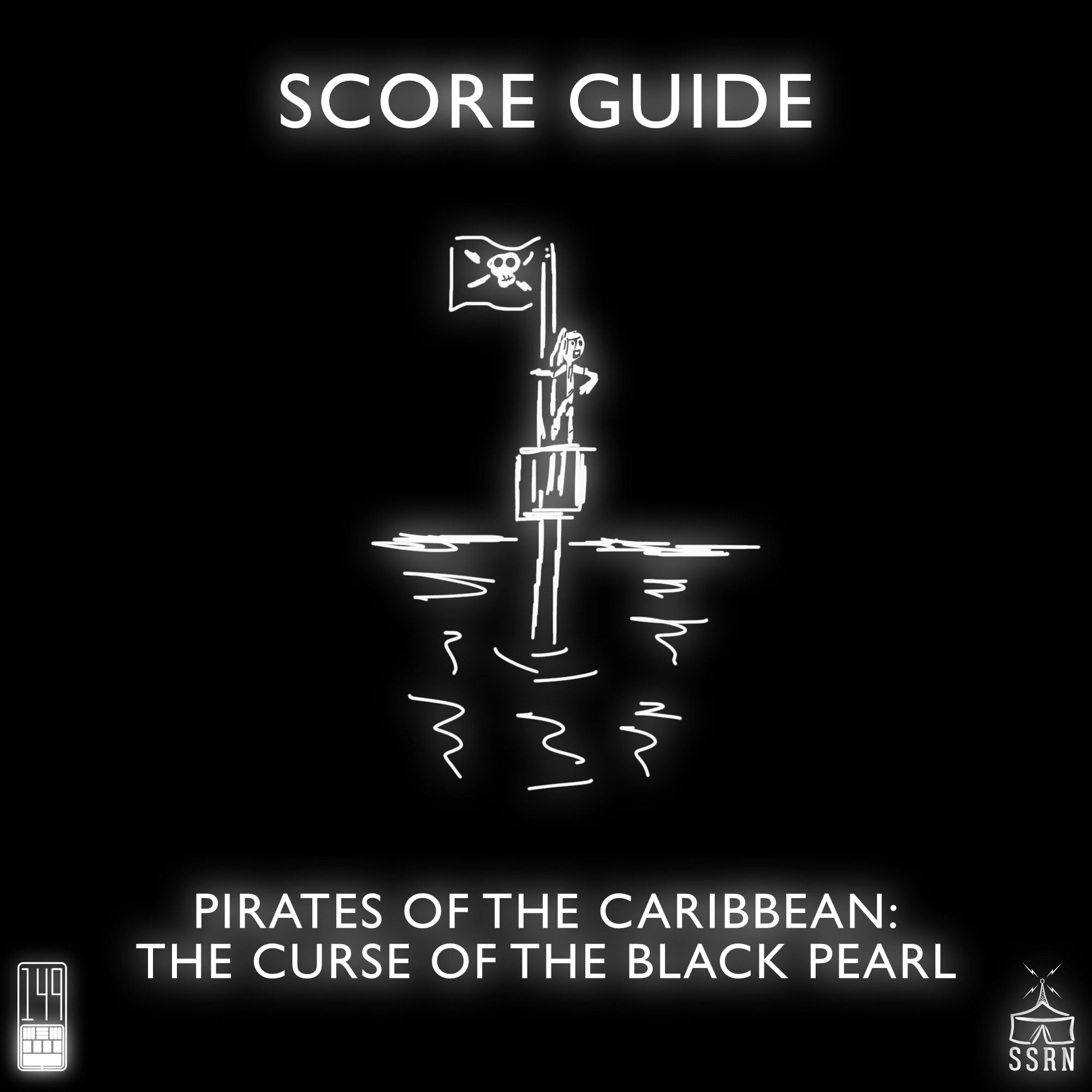 Score Guide – Pirates of the Caribbean The Curse of the Black Pearl (2003)