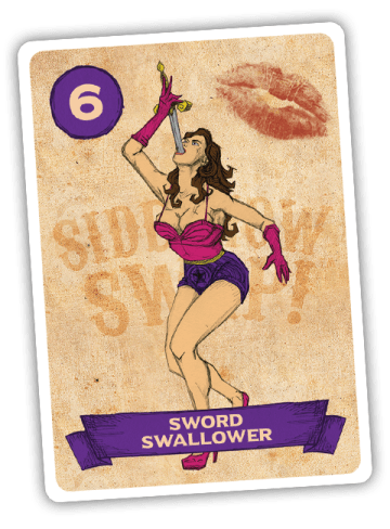 Sideshow Swap! Performer - Sword Swallower