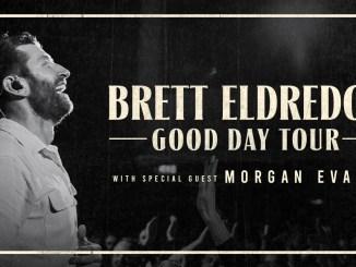 BRETT ELDREDGE ANNOUNCES 2021 GOOD DAY TOUR