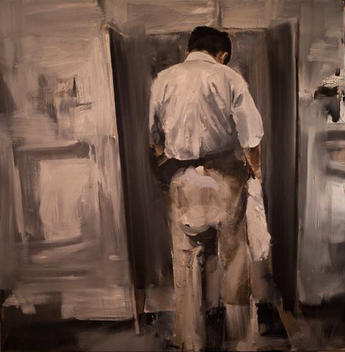 "David Allen, Oil on canvas, 36"" x 36"", $8,000 (SOLD)"