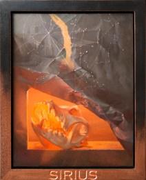 "Jason McPhillips ""Sirius"" 16.5""x13.25"" Oil on Panel $2185 (framed)"