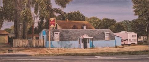 "William Scarlato, ""A Bar on the Lincoln Highway, Illinois"""