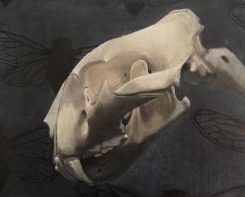 """Rory Coyne, """"Love Note"""", Oil on linen, 8""""x10"""", $1450"""