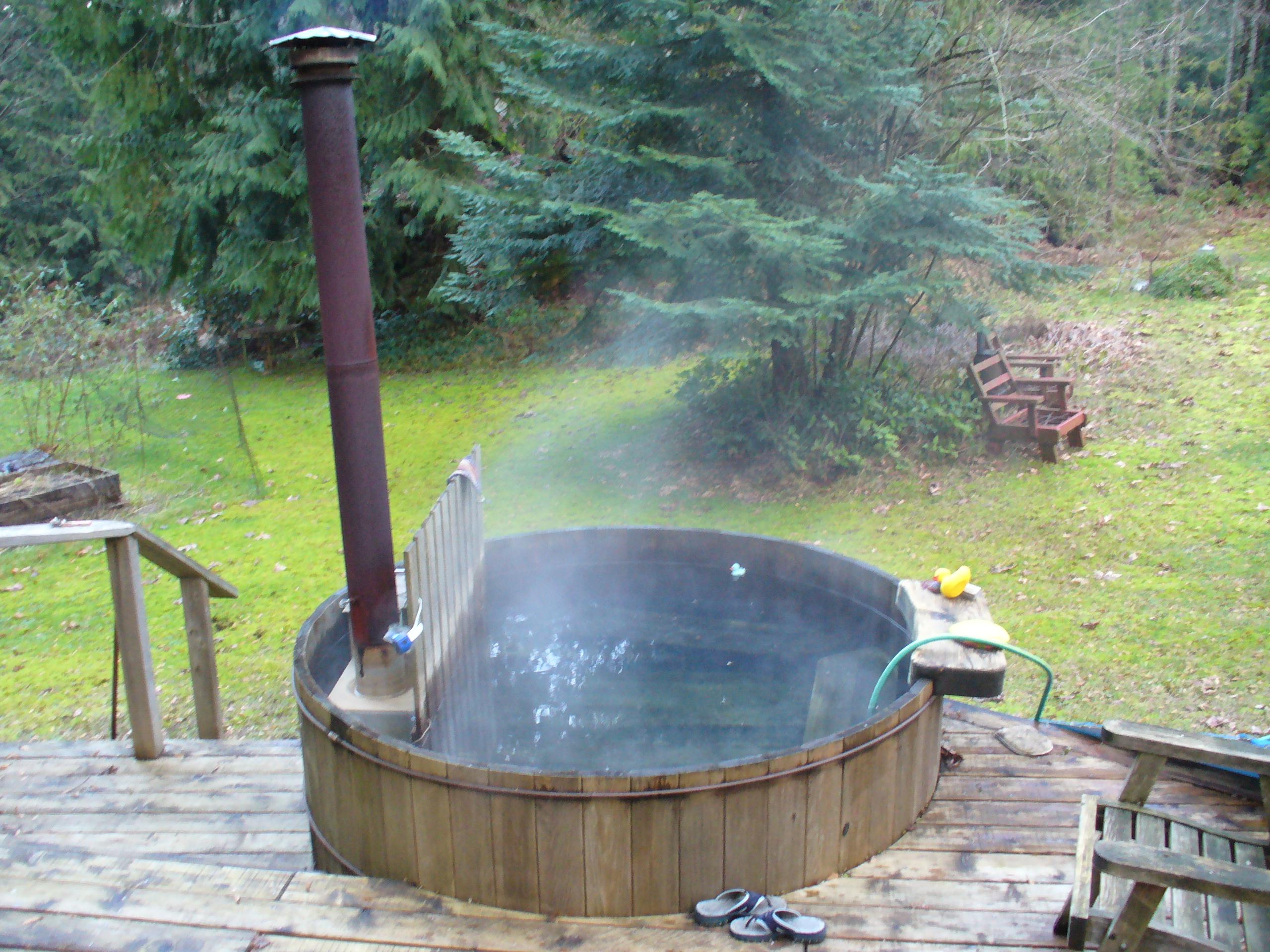 DIY How To Make Wood Burning Hot Tub Wooden PDF practical
