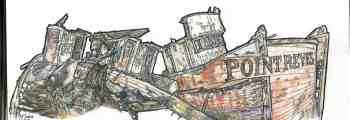 Pt. Reyes Ship Wreck, Inverness, CA