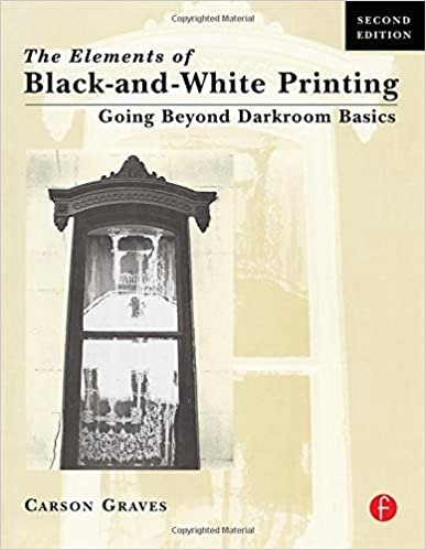 Book Cover: The Elements of Black & White Printing by Carson Graves