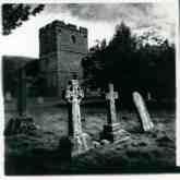 Stokesay Castle Church - Paper negative