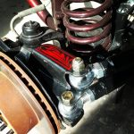 Dana 30 High Steer Sidewinder Fab Steering Passenger Bracket with heims