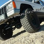 High Steer Kit White XJ