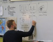 Casey storyboarding