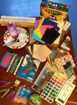 OCEAN - art kit contents