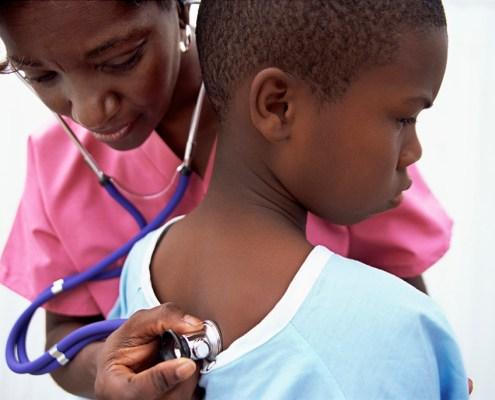 Infirmière Afrique