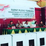 Wakapolsek Teluknaga Hadiri Acara Rapat Pleno Terbuka Tingkat Kec. Teluknaga Tahun 2019