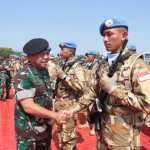 Panglima TNI:  Kontingen Garuda Merupakan Tugas Istimewa Menjadi Duta Bangsa dan TNI di Forum Internasional