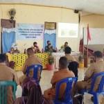 Sinergitas TNI-Polri dan Pemerintah, Dandim Merauke Sosialisasi Protokol Covid-19 dan Karhutla