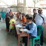 Pemerintah Desa Muara Salurkan 563 KK BST Tahap 7 Di Lapangan Futsal Desa Muara