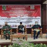 Kasat Binmas Polres Kukar Hadiri Kegiatan Seminar Kebangsaan Dan Deklarasi Damai