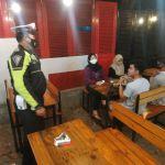 Himbauan Prokes, Satlantas Kukar Berikan Himbauan