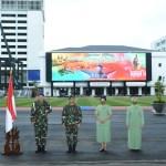 Kasad Terima Laporan Korps Kenaikan Pangkat 12 Pati TNI AD