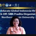 SMA Pradita Dirgantara Menjadi Sekolah Menengah Pertama Menjalankan Educate Global Program bersama Nothern Illinois University