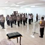 Laksanakan Tugas dan Pelayanan Maksimal, Kapolres Kukar Berikan Penghargaan Kepada 16 Anggota