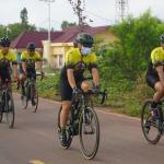 Dukung Suksesnya PON XX Papua, Pangdam XVII/Cen dan Danrem Merauke Gowes Bersama Sejauh 100 Km