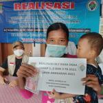 Desa Jatimulya Salurkan 80 KPM Penerima BLT Dana Desa Tahap 1 ,2 Dan 3 Tahun 2021