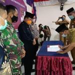 SERTIJAB (Serah Terima Jabatan) Kepala Desa Rawa Rengas Di Aula GSG Desa Rawa Rengas
