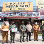 Kasdam I/BB dan Wakapoldasu Pantau Pos Penyekatan PPKM Darurat Kota Medan