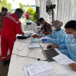 Dukung Percepatan Vaksinasi, 89.367 Orang Telah divaksin Polda Banten