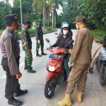 Penerapan PPKM Diperketat,Polres Kukar Gelar Operasi Yustisi