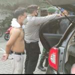 Pemuda Yang Nyaris Tabrak Petugas PPKM Penyekatan Di Daanmogot, Ternyata Pelaku Jambret